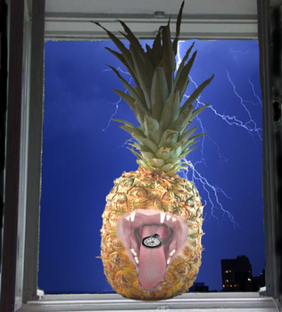The Dangerous Pineapple by carpetcat