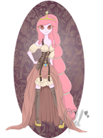 Princess Bubblegum-Steampunk by MelciAdR