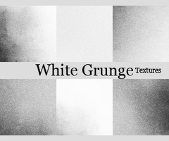 White Grunge Icons Textures by blackavalon3