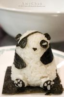 Pirate Panda Onigiri by Beloved-chan