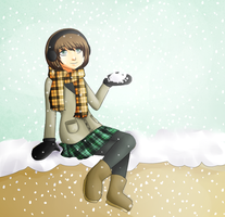 Relaxing in the snow by chocomax