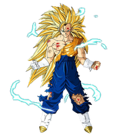 Vegetto SSJ3 of nykolha by Dairon11