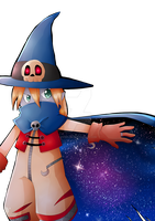 Wizardmon's Space Cape by PaperLillie