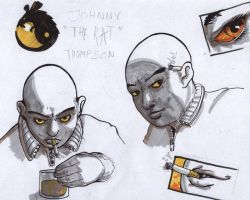 """Character study: Johnny """"Rat"""" by gooze"""