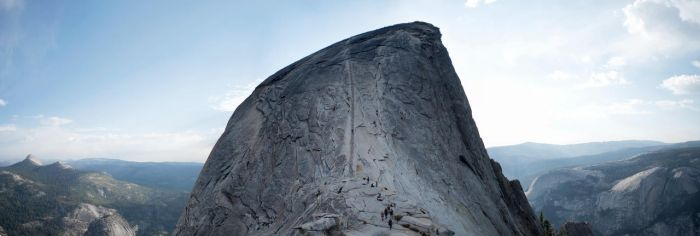 Half Dome Pano by padraig13