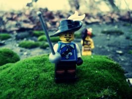 Lego in the nature by Super-Studio