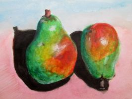 Cerrillos Turquoise Pears in Pink by DVanDyk