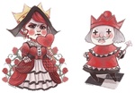 Red Royalty by DrawKill