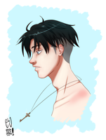 LeviAckerman by URESHI-SAN