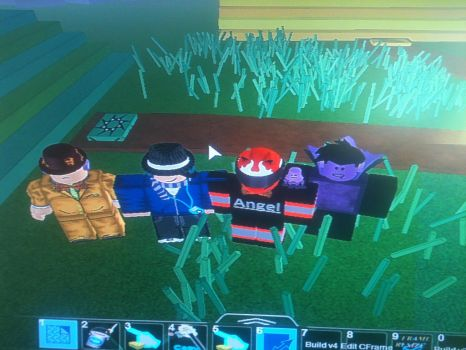 Me and my friends from ROBLOX by Angeltheherovampire