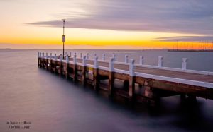 Waterfront Geelong Sunrise by DanielleMiner