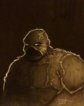 Swamp Thing - Quick Sketch by 4ColorCliche