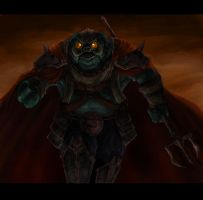 Ganon - God of Darkness by super-fergus
