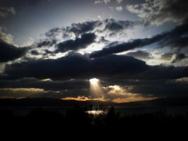 Crepuscular Rays by Simona777