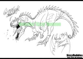 Allosaurus Smash by SizzyBubbles