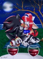 Contest Entry: Shadow and Julane by mino-the-cat