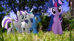 [MLP en vrai] Family Sparkle by VBASTV