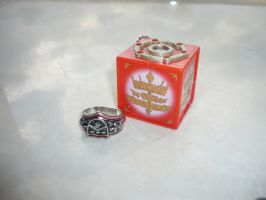 Vongola Storm Ring and Box by hk-1440