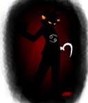 Shadow Karkat by Jam-Bot