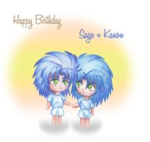 Happy Brithday S+K by Leika-Kannon