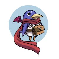 prinny the hero by Shayeragal
