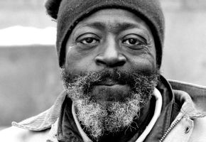 Homeless Man in Cleveland by daveant