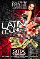 LATIN LOUNGE SATURDAYS FLYER by DeityDesignz
