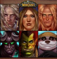 Warcraft: headshot compilation by KaynessArt