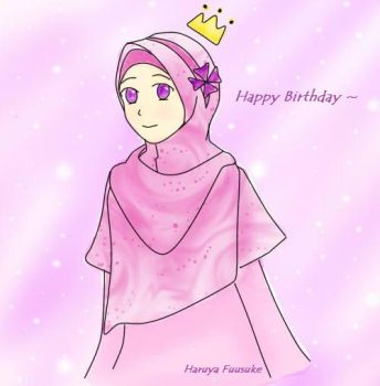 Birthday girl :D by Khaireen