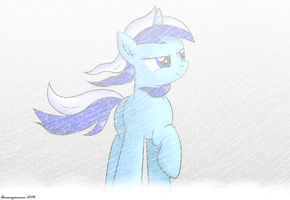 Background Pony of the Week 52 by bluemeganium