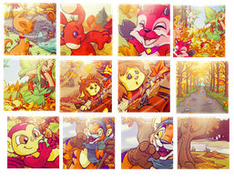 AutumnIcons by Jagveress