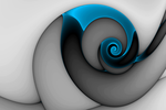 Curl Blue by element90