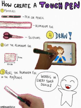 How Create a Touch Pen - Tutorial by MaryNoddles