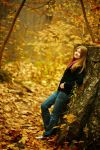 my lady in autumn by chirilas