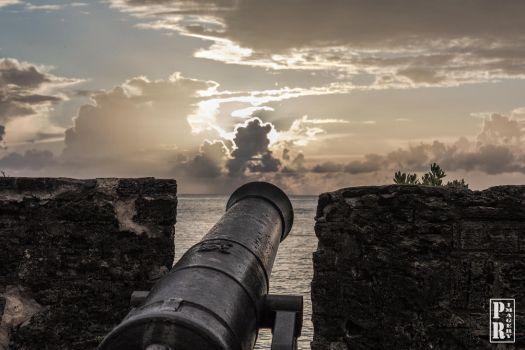 Canon at Gates Fort by PR-Imagery