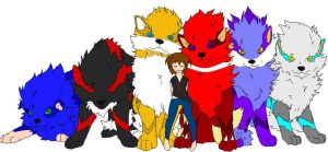 Arcanine sonic pack by TheUltimateFangirlXD