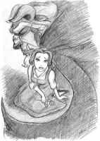 Beauty and the Beast by anla