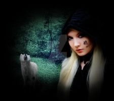 The Witch and her Wolf by LifeIsZealous