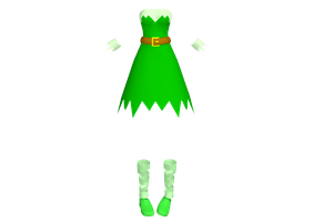 MMD Fairy or Elf outfit DL by 2234083174