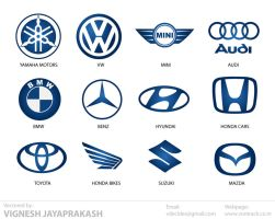 Automotive Logos by vdecides