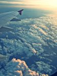 View from airplane by lovely-judith