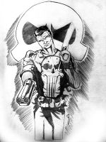 con Practice: Punisher by thelearningcurv