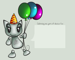 dA 9th Birthday Wallpaper by Fuzzi-Wuzzi