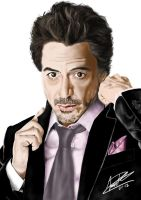 Robert Downey Jr. by Amaterasuscorp1