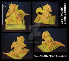 Ra Plush -YGO- by CrowMaiden