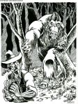 Patterson Meets Sasquatch by BryanBaugh