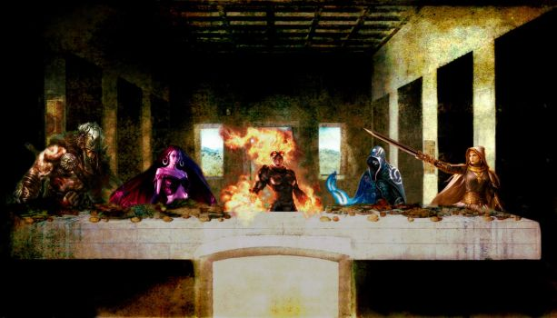The Last Supper - Magic the Gathering by Uldran