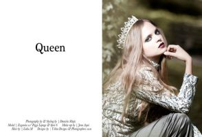 Reverie mag Queen editorial by DmajicPhotography