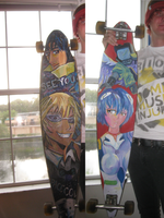 Anime Longboard by Skatarded