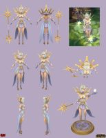 Lux Light Cosplay Ref by YBourykina